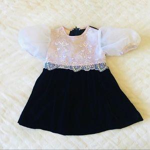 Isabella Vintage Girl's Dress